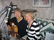 2009-11 Ingrid Heldt and her first musical collaborator, Becky Raveson
